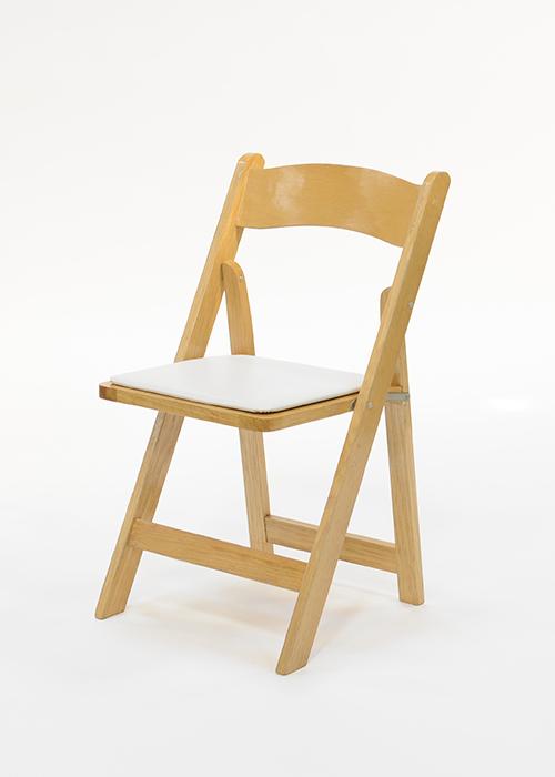 Natural Wood Folding Chair Rental Rental Chairs Houston Bar Stool