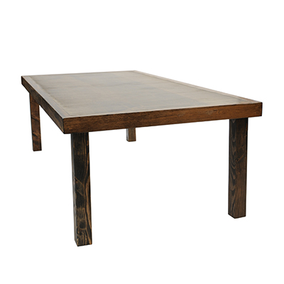 Borrego Tables 4'x8' Wood  www.Raphaels.com - Call to place your rental order today! 858-689-7368 - www.raphaels.com
