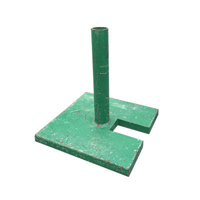 Umbrella Base Green  www.Raphaels.com - Call to place your rental order today! 858-689-7368 - www.raphaels.com