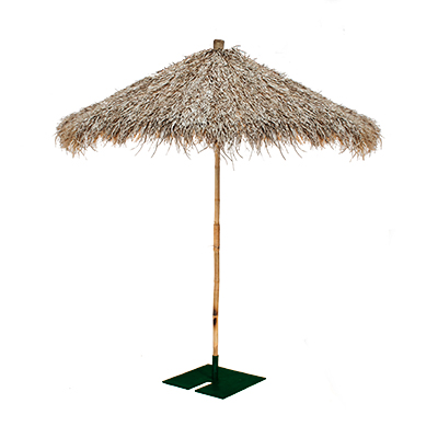 Palapas Umbrella 9' with base  www.Raphaels.com - Call to place your rental order today! 858-689-7368 - www.raphaels.com