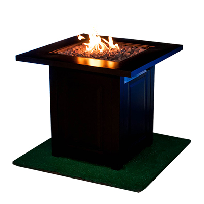 Propane Fire Pit Bronze  www.Raphaels.com - Call to place your rental order today! 858-689-7368 - www.raphaels.com
