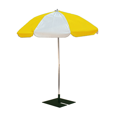 Patio Umbrella 6' w/base  www.Raphaels.com - Call to place your rental order today! 858-689-7368 - www.raphaels.com