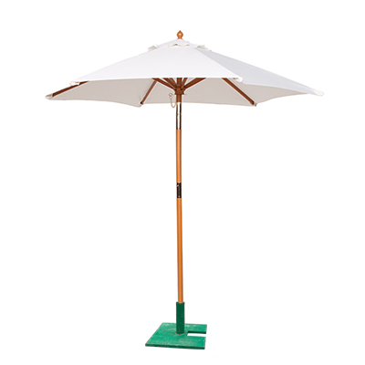 Market Umbrella 6' w/base  www.Raphaels.com - Call to place your rental order today! 858-689-7368 - www.raphaels.com