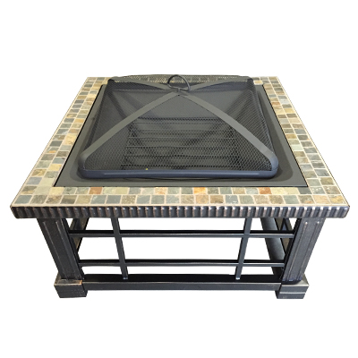 Wood Fire Pit Includes Wood  www.Raphaels.com - Call to place your rental order today! 858-689-7368 - www.raphaels.com