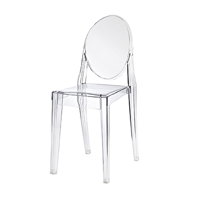 Clear Phantom Chair Without Armrests  www.Raphaels.com - Call to place your rental order today! 858-689-7368 - www.raphaels.com