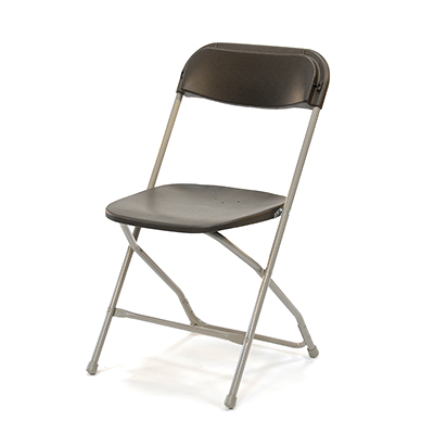 Plastic Folding Chair Brown  www.Raphaels.com - Call to place your rental order today! 858-689-7368 - www.raphaels.com