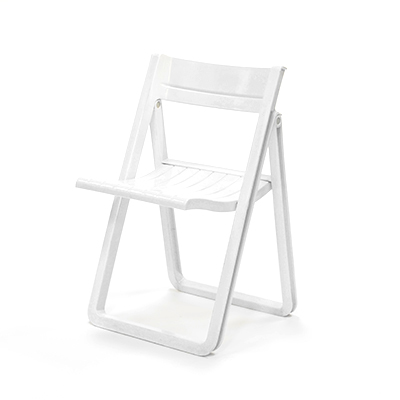 Plastic Folding Chair Short-back, Villa  www.Raphaels.com - Call to place your rental order today! 858-689-7368 - www.raphaels.com