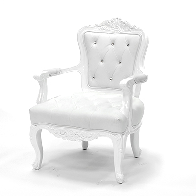 Royale Chair White  www.Raphaels.com - Call to place your rental order today! 858-689-7368 - www.raphaels.com