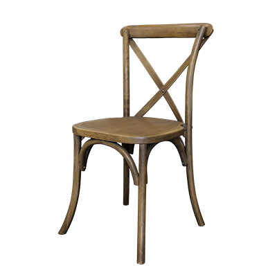 Lucca Bistro Chair Rustic  www.Raphaels.com - Call to place your rental order today! 858-689-7368 - www.raphaels.com
