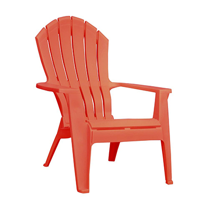 Adirondack Chair Resin - Coral  www.Raphaels.com - Call to place your rental order today! 858-689-7368 - www.raphaels.com