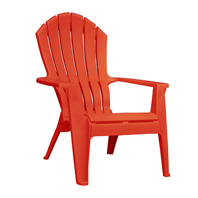 Adirondack Chair Resin - Red  www.Raphaels.com - Call to place your rental order today! 858-689-7368 - www.raphaels.com