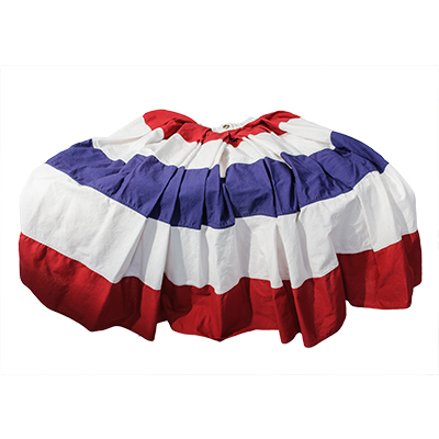 Bunting Fan Red, White & Blue  www.Raphaels.com - Call to place your rental order today! 858-689-7368 - www.raphaels.com
