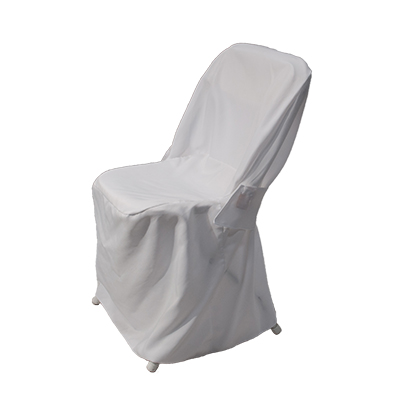 Folding Chair Cover White  www.Raphaels.com - Call to place your rental order today! 858-689-7368 - www.raphaels.com
