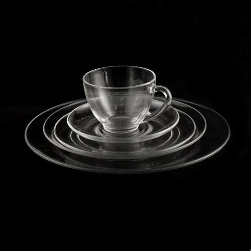 Clear Glass Dinnerware - www.raphaels.com