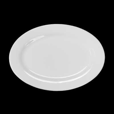 "Miscellaneous China 18""x13"" Platter, Oval  www.Raphaels.com - Call to place your rental order today! 858-689-7368 - www.raphaels.com"