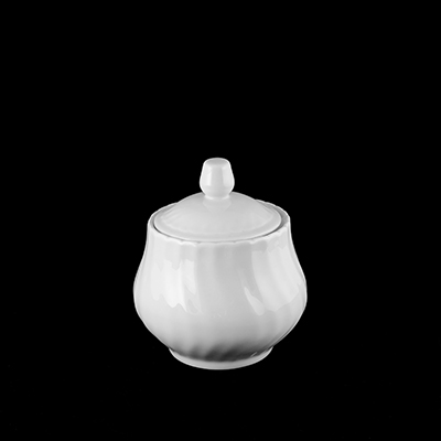 Sophisticate China Sugar Bowl  www.Raphaels.com - Call to place your rental order today! 858-689-7368 - www.raphaels.com