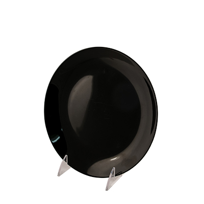 "Black Deluxe China Salad Plate 8-1/4""  www.Raphaels.com - Call to place your rental order today! 858-689-7368 - www.raphaels.com"