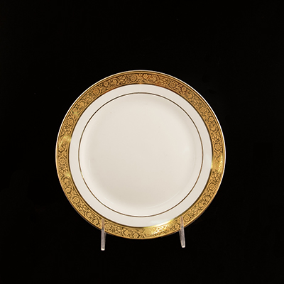 "Magnificence China Salad Plate 8""  www.Raphaels.com - Call to place your rental order today! 858-689-7368 - www.raphaels.com"