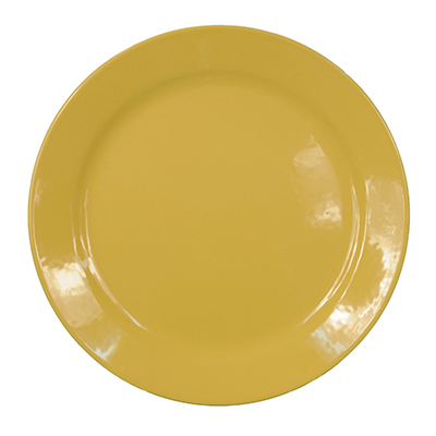 "12"" Charger Plate Yellow  www.Raphaels.com - Call to place your rental order today! 858-689-7368 - www.raphaels.com"