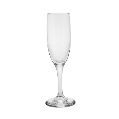 Champagne Glass Flute 6-1/2 oz  www.Raphaels.com - Call to place your rental order today! 858-689-7368 - www.raphaels.com
