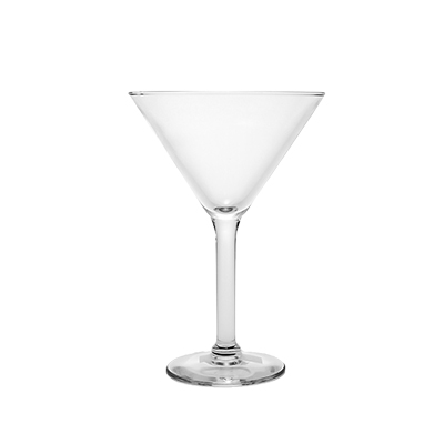 Martini Glass 10 oz.  www.Raphaels.com - Call to place your rental order today! 858-689-7368 - www.raphaels.com