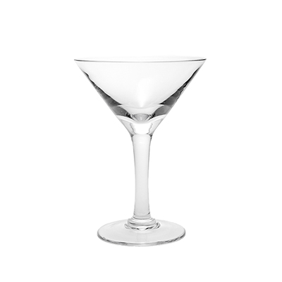 Martini Glass 6 oz.  www.Raphaels.com - Call to place your rental order today! 858-689-7368 - www.raphaels.com