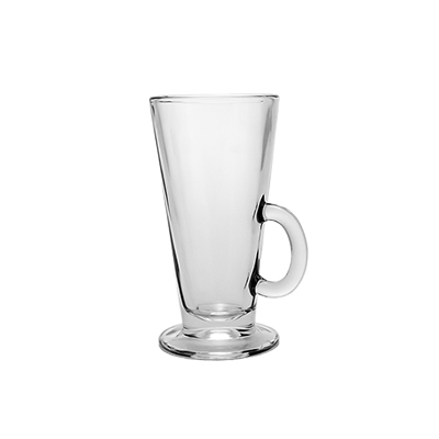 Glass Coffee Mug 8.5 oz. Tazo  www.Raphaels.com - Call to place your rental order today! 858-689-7368 - www.raphaels.com