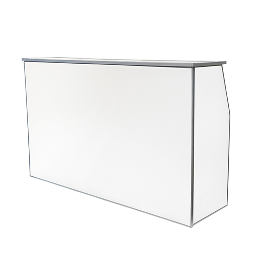 6' Bella Bar White  www.Raphaels.com - Call to place your rental order today! 858-689-7368 - www.raphaels.com