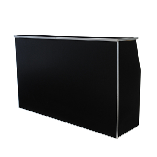 6' Bella Bar Black  www.Raphaels.com - Call to place your rental order today! 858-689-7368 - www.raphaels.com