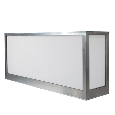 "8' Brilliant Bar 8'x2'x48""  www.Raphaels.com - Call to place your rental order today! 858-689-7368 - www.raphaels.com"