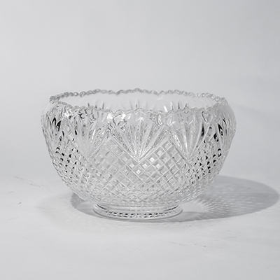 Glass Punch Bowl, 2 Gal    www.Raphaels.com - Call to place your rental order today! 858-689-7368 - www.raphaels.com