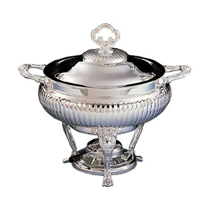 Chafing Dish 3 Qt Silver Warming Dish  www.Raphaels.com - Call to place your rental order today! 858-689-7368 - www.raphaels.com