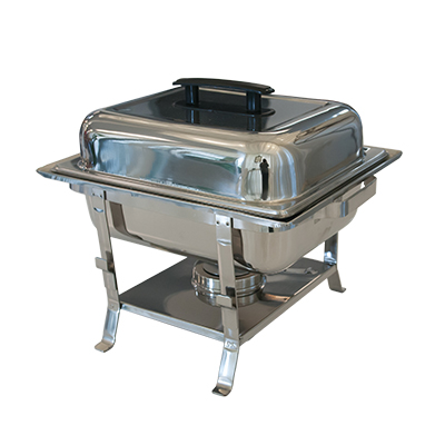 Chafing Dish 4 Qt Stainless Steel  www.Raphaels.com - Call to place your rental order today! 858-689-7368 - www.raphaels.com