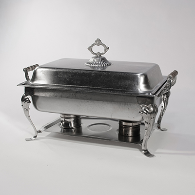 Kosher Chafing Dish 8 Qt Fancy  www.Raphaels.com - Call to place your rental order today! 858-689-7368 - www.raphaels.com