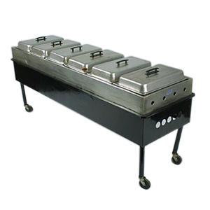 Steam Table w/6 Pans    www.Raphaels.com - Call to place your rental order today! 858-689-7368 - www.raphaels.com