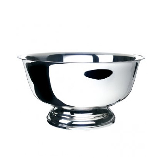 "Silver Revere Bowl, 10""    www.Raphaels.com - Call to place your rental order today! 858-689-7368 - www.raphaels.com"