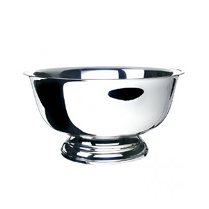 "Silver Revere Bowl, 12""    www.Raphaels.com - Call to place your rental order today! 858-689-7368 - www.raphaels.com"