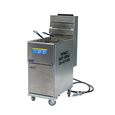 Fryer Gas Floor Model  www.Raphaels.com - Call to place your rental order today! 858-689-7368 - www.raphaels.com