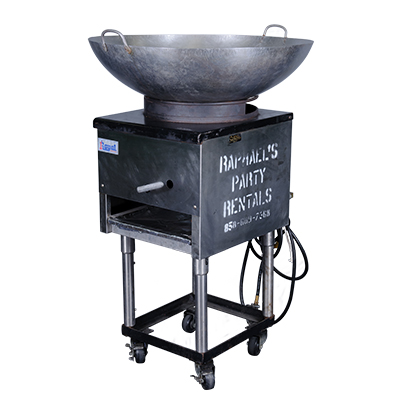 "Wok Range 16"" w/10 Gallon Propane   www.Raphaels.com - Call to place your rental order today! 858-689-7368 - www.raphaels.com"