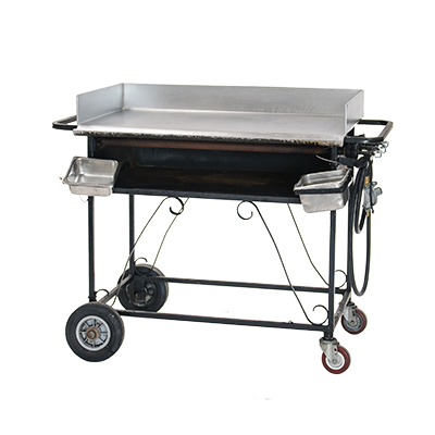 Industrial Griddle 20 x 36 W/5 Gallon Propane  www.Raphaels.com - Call to place your rental order today! 858-689-7368 - www.raphaels.com