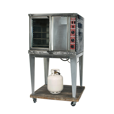 Convection Oven includes 10 gal. propane  www.Raphaels.com - Call to place your rental order today! 858-689-7368 - www.raphaels.com