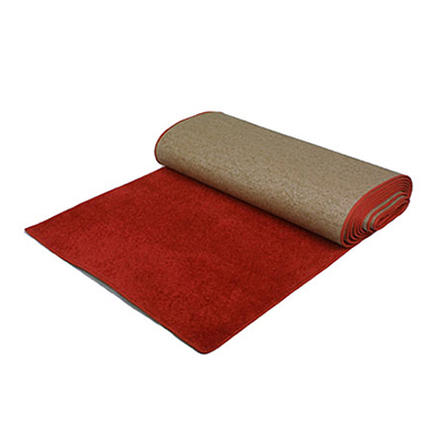 Carpet Aisle Runner Red 50' x 3'  www.Raphaels.com - Call to place your rental order today! 858-689-7368 - www.raphaels.com