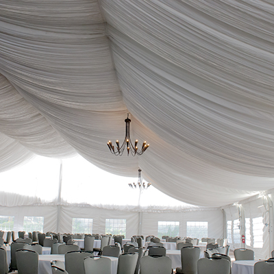 Tent Liner 30' x 30'  www.Raphaels.com - Call to place your rental order today! 858-689-7368 - www.raphaels.com