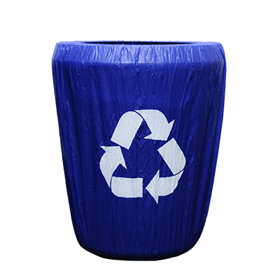 Recycle Bin Kwik Cover Disposable  www.Raphaels.com - Call to place your rental order today! 858-689-7368 - www.raphaels.com