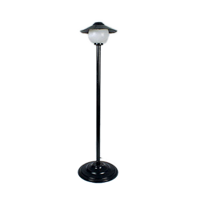 Black Lamp Post, 8' Single Light  www.Raphaels.com - Call to place your rental order today! 858-689-7368 - www.raphaels.com