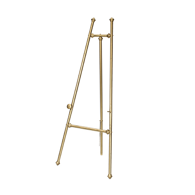 Brass Easel    www.Raphaels.com - Call to place your rental order today! 858-689-7368 - www.raphaels.com