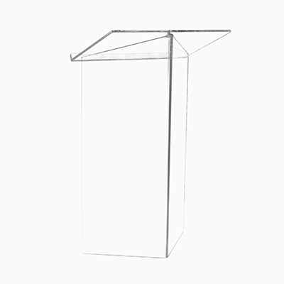 Floor Podium Lucite  www.Raphaels.com - Call to place your rental order today! 858-689-7368 - www.raphaels.com