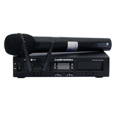 Cordless Microphone Digital frequency wireless  www.Raphaels.com - Call to place your rental order today! 858-689-7368 - www.raphaels.com