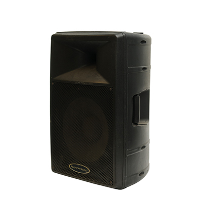 American Audio Speaker add on to amp/speaker/mic  www.Raphaels.com - Call to place your rental order today! 858-689-7368 - www.raphaels.com