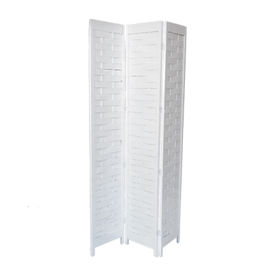 Room Divider White  www.Raphaels.com - Call to place your rental order today! 858-689-7368 - www.raphaels.com